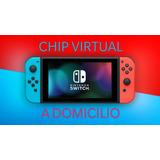Chip Virtual Nintendo Switch + 3 Juegos