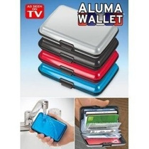 Aluma Wallet Cartera Billetera Protectora Como En Tv	Clas13