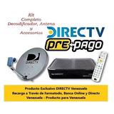 Directv Oficial Venezuela Prepago - Leer Descripcion General