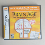 Sg2 Juego Original Nintendo Ds Brain Age Barato 5
