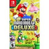 Super Mario Bros U Nintendo Switch Nuevo Sellado En Tienda.