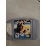007 World Is Not Enoigh Juego De Nintendo 64