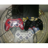 Playstation 2 + 3 Controles + Memorycard+chipeado+juegos