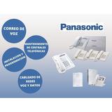 Venta Instalacion Configuracion Central Telefonica Panasonic
