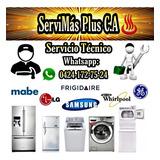 Servicio Técnico Neveras Lavadoras Whirlpool Lg Mabe Samsung