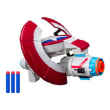 Pistolas Nerf Avengers Endgame Capitan America 2en1 Original