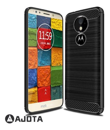 68db75aa0f3 Forro Ajota Fibra De Carbono Motorola Moto E5 Plus