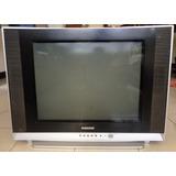 Televisor 21 Samsung Culón $55 Vrdes