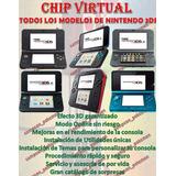 Chip Virtual Consola 3ds 2ds New Versión 11.8 11.9 Ntrboot
