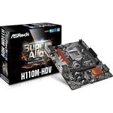 Tarjeta Madre Asrock H110m-hdv Socket 1151 Intel Ddr4