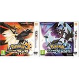 Pokemon Ultra Sol Y Ultra Luna - Nintendo 3ds, 2ds, New 3ds