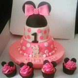 Tortas Decoradas Cupcakes Decorados Fondant Dia El Padre