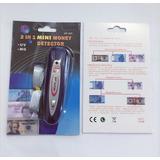 Detector Billetes Con Luz Uv Y Sensor Magnetico Grande