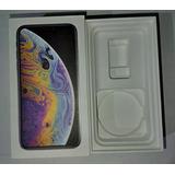 Caja Vacia iPhone Xs Silver 64gb A1920 Sin Accesrios Manual
