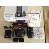 Canon Eos 70d + Lente 18-135mm