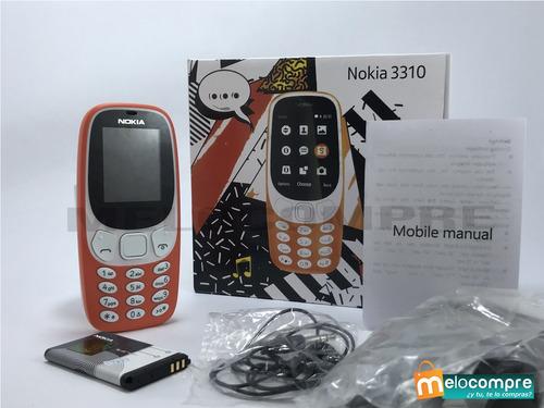 Teléfonos Celulares Nokia 3310 Nuevos Liberados Baratos
