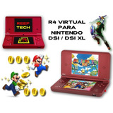 R*4 Virtual Chip Digital Nintendo Dsi Y Dsi Xl + Regalos