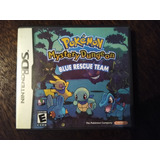 Pokemon Mystery Dungeon Blue Rescue Team Nintendo Ds 3ds 2ds