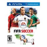 Juego Playstation Ps Vita Fifa Soccer Original Sellado