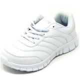 Zapatos Dep. Escolares Yoyo 16367l Blanco 24-31 Envío Gratis