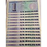 Billetes De Colección Un Bolivar