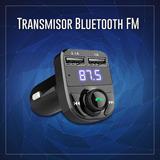 Transmisor Bluetooth Fm / Cargador 3.1 A