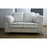Sofa 2 Puestos Bipiel O Tela,el Mejor Precio/calidad.