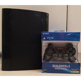 Play Station 3 Super Slim + Juegos Dig + Control + Garantia