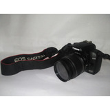 Camara Canon Eos 1000d Usada Sin Detalles Como Nueva