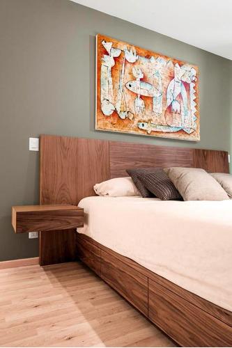 Juegos de cuarto camas con gavetas modernos en madera bs f for Juego de cuarto queen size