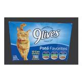 Alimento Húmedo Para Gatos Enlatados, Marca 9lives