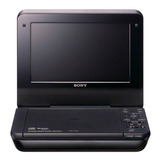 Reproductor De Dvd Portatil Sony Dvpfx780 Negro