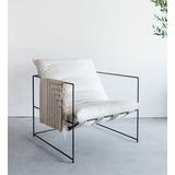 Sofa Silla Butaca Mueble Poltrona Sillón Moerno Hierro Mini