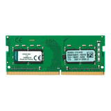 Memoria Ram Kingston Valueram 4gb Ddr4 2400mhz Sodimm