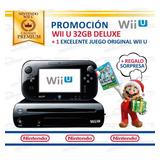Excelente Consola Nintendo Wii U + Juego Original Wiiu