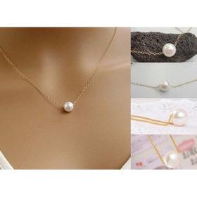 394b04e2ef47 Collar Tipo Perla Para Layer Capas Amor Corazon Fashion Tb
