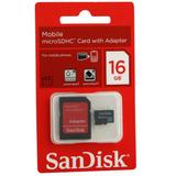 Memoria Micro Sd 16gb Sellada Original - Tienda En 2 Caminos
