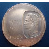 Moneda De Plata De Bs 10 1973 30 Gr Ley 900(ver Descripcion)