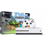 Xbox One S 500 Gb Version Minecraft Nuevo Sellado 4k Factura