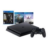 Playstation 4 1tb Slim Nuevo+(310)+tienda+3 Juegos