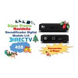 Nvo Decodificador Digital Directv L14 Prepago