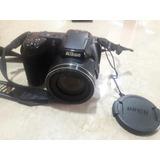 Camara Nikon Impecable Coolpix L810 + Bolso