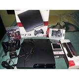 Playstation 3 Slim De 120 Gb Usado En Perfecto Estado