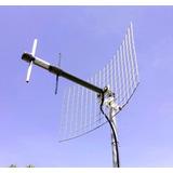 Antena Direccional 7km Reales Telefonia Fija Modem Internet