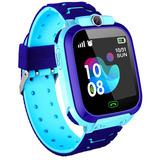 Reloj Niño Gps Localizador Inteligente Smart Watch Z5 Azul
