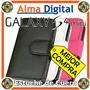 Estuche Cuero Samsung S4 Mini Forro Protector Libreta I9190