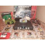 Nintendo 64 Con Mario 64 Y 8+