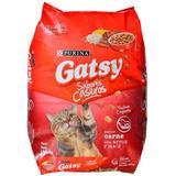 Gatarina Gatsy Sabor A Carne Saco 17kg Y También Detallada