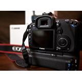 Canon 7d Con Battery Grip Y 3 Baterias