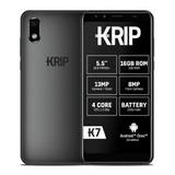 Teléfono Krip K7 1gb/16gb Rom Forro+ Protector Dual Sim